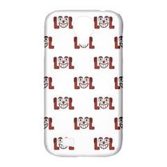 Lol Emoji Graphic Pattern Samsung Galaxy S4 Classic Hardshell Case (pc+silicone) by dflcprints