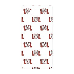 Lol Emoji Graphic Pattern Samsung Galaxy Alpha Hardshell Back Case by dflcprints