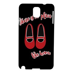 There Is No Place Like Home Samsung Galaxy Note 3 N9005 Hardshell Case by Valentinaart