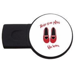 There Is No Place Like Home Usb Flash Drive Round (2 Gb) by Valentinaart