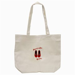 There Is No Place Like Home Tote Bag (cream)