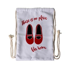 There Is No Place Like Home Drawstring Bag (small) by Valentinaart