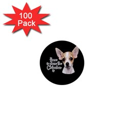 Chihuahua 1  Mini Buttons (100 Pack)  by Valentinaart