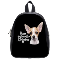 Chihuahua School Bags (small)  by Valentinaart