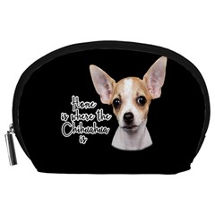 Chihuahua Accessory Pouches (large)  by Valentinaart