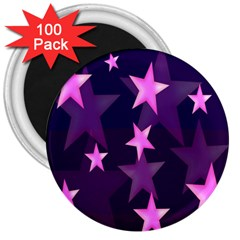 Background With A Stars 3  Magnets (100 Pack) by Nexatart