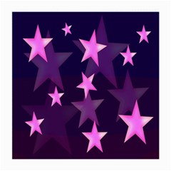 Background With A Stars Medium Glasses Cloth (2 Side)