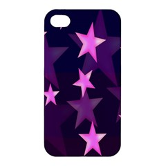 Background With A Stars Apple Iphone 4/4s Premium Hardshell Case