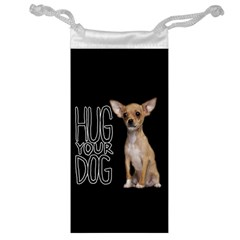 Chihuahua Jewelry Bag by Valentinaart