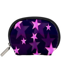 Background With A Stars Accessory Pouches (small)  by Nexatart