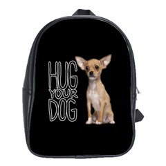 Chihuahua School Bags (xl)  by Valentinaart