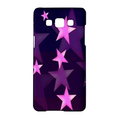 Background With A Stars Samsung Galaxy A5 Hardshell Case  by Nexatart