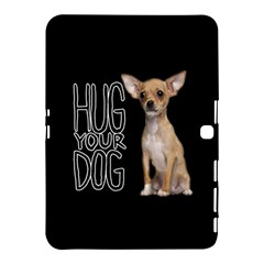 Chihuahua Samsung Galaxy Tab 4 (10 1 ) Hardshell Case  by Valentinaart