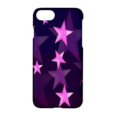 Background With A Stars Apple Iphone 7 Hardshell Case