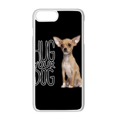 Chihuahua Apple Iphone 7 Plus White Seamless Case by Valentinaart