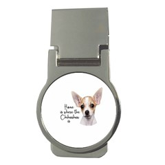 Chihuahua Money Clips (round)  by Valentinaart