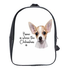 Chihuahua School Bags(large)  by Valentinaart