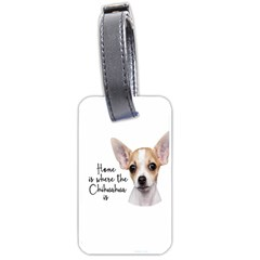 Chihuahua Luggage Tags (one Side)