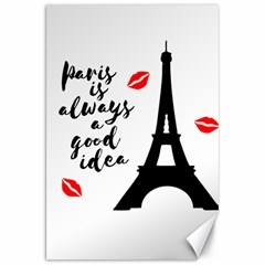 Paris Canvas 20  X 30