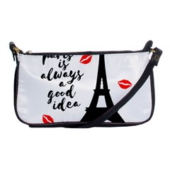 Paris Shoulder Clutch Bags by Valentinaart