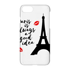 Paris Apple Iphone 7 Hardshell Case by Valentinaart