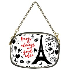 Paris Chain Purses (one Side)  by Valentinaart