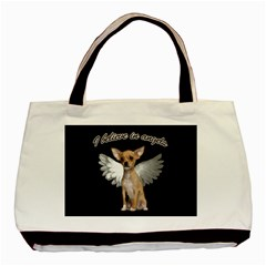 Angel Chihuahua Basic Tote Bag by Valentinaart