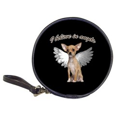 Angel Chihuahua Classic 20 Cd Wallets by Valentinaart