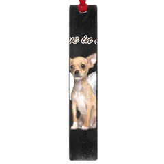 Angel Chihuahua Large Book Marks