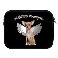 Angel Chihuahua Apple Ipad 2/3/4 Zipper Cases by Valentinaart