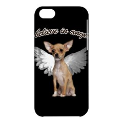 Angel Chihuahua Apple Iphone 5c Hardshell Case by Valentinaart