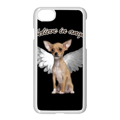Angel Chihuahua Apple Iphone 7 Seamless Case (white) by Valentinaart