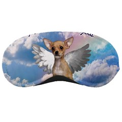 Angel Chihuahua Sleeping Masks by Valentinaart
