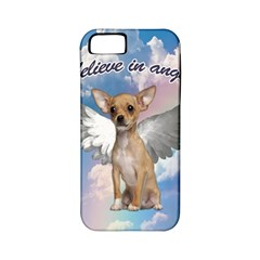 Angel Chihuahua Apple Iphone 5 Classic Hardshell Case (pc+silicone) by Valentinaart
