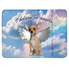 Angel Chihuahua Samsung Galaxy Tab 7  P1000 Flip Case by Valentinaart