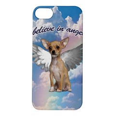 Angel Chihuahua Apple Iphone 5s/ Se Hardshell Case by Valentinaart