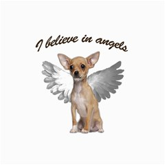 Angel Chihuahua Canvas 12  X 12   by Valentinaart
