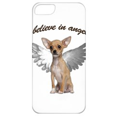 Angel Chihuahua Apple Iphone 5 Classic Hardshell Case by Valentinaart
