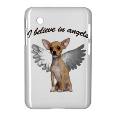 Angel Chihuahua Samsung Galaxy Tab 2 (7 ) P3100 Hardshell Case  by Valentinaart