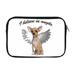 Angel Chihuahua Apple Macbook Pro 17  Zipper Case by Valentinaart