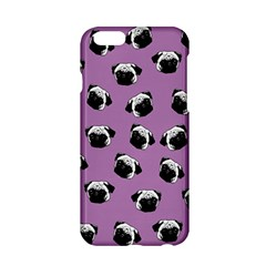Pug Dog Pattern Apple Iphone 6/6s Hardshell Case by Valentinaart