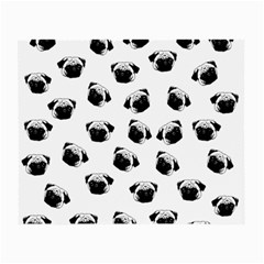 Pug Dog Pattern Small Glasses Cloth (2 Side)