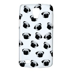 Pug Dog Pattern Galaxy S4 Active by Valentinaart