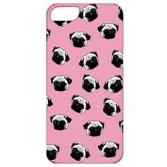 Pug Dog Pattern Apple Iphone 5 Classic Hardshell Case by Valentinaart