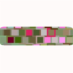 Color Square Tiles Random Effect Large Bar Mats by Nexatart