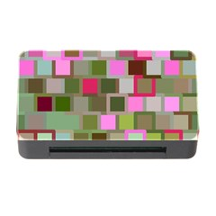 Color Square Tiles Random Effect Memory Card Reader With Cf by Nexatart