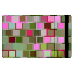 Color Square Tiles Random Effect Apple Ipad 3/4 Flip Case by Nexatart