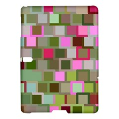 Color Square Tiles Random Effect Samsung Galaxy Tab S (10 5 ) Hardshell Case  by Nexatart