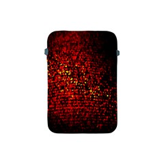 Red Particles Background Apple Ipad Mini Protective Soft Cases by Nexatart