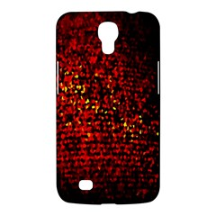 Red Particles Background Samsung Galaxy Mega 6 3  I9200 Hardshell Case